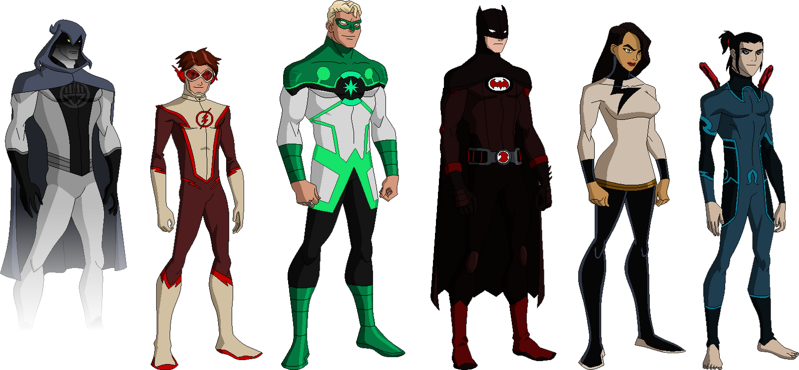 Justice League Redesign By Derp99999 On Deviantart
