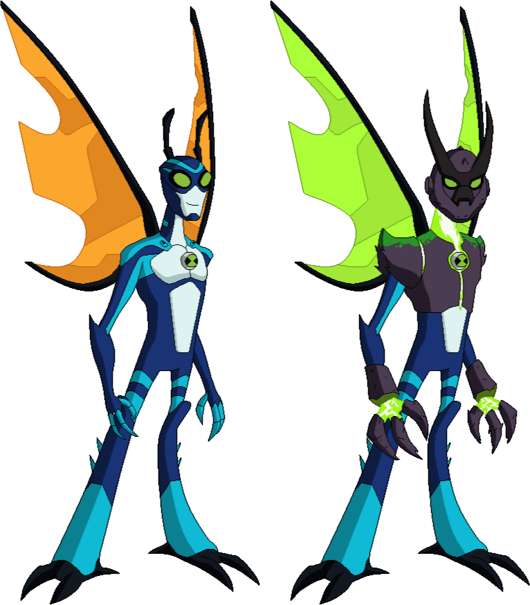 Ben 10 Stinkfly And Omni Enhanced By Derp99999