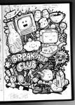 Original Breakfast club illustration