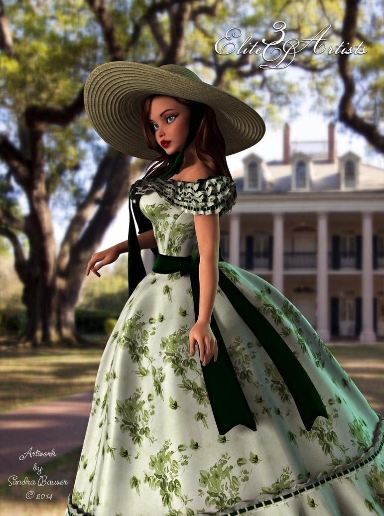 Southern Belle Promo Ad by sandrabauser