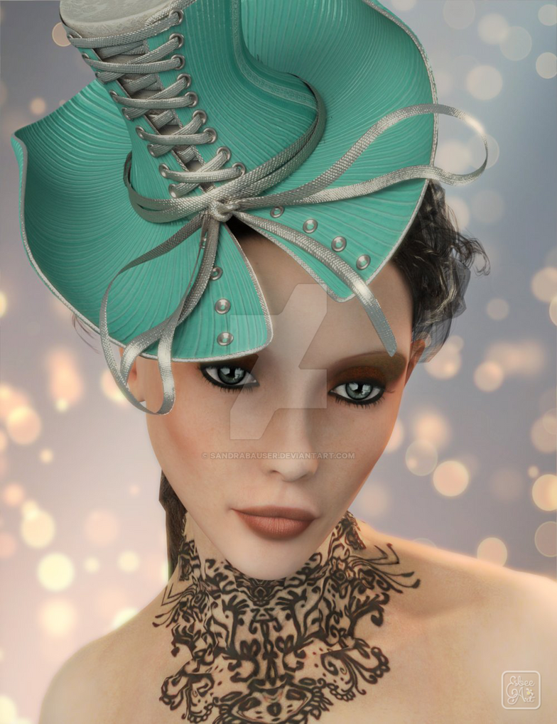 Fascinator by sandrabauser