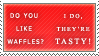 Tasty Waffles Stamp by EliMayGQ