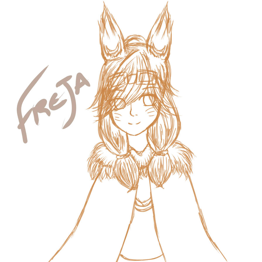 [GoA] Freja Sketch by Light15XV