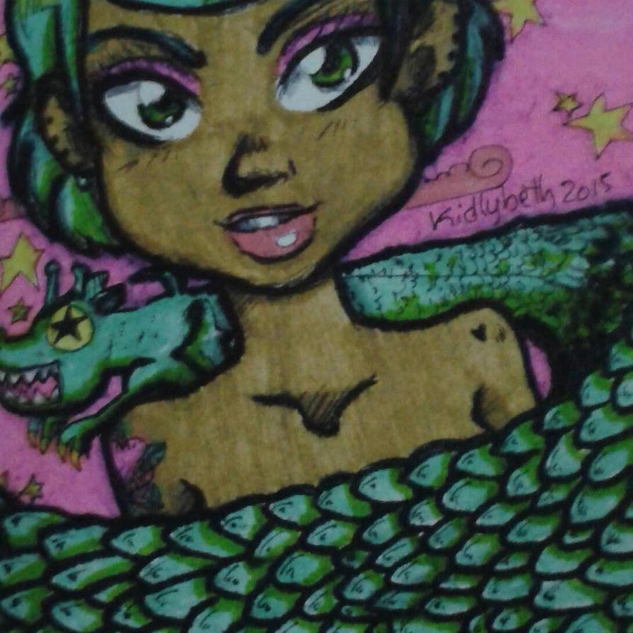 Dragon Girl by Y-a-m-i-k-o