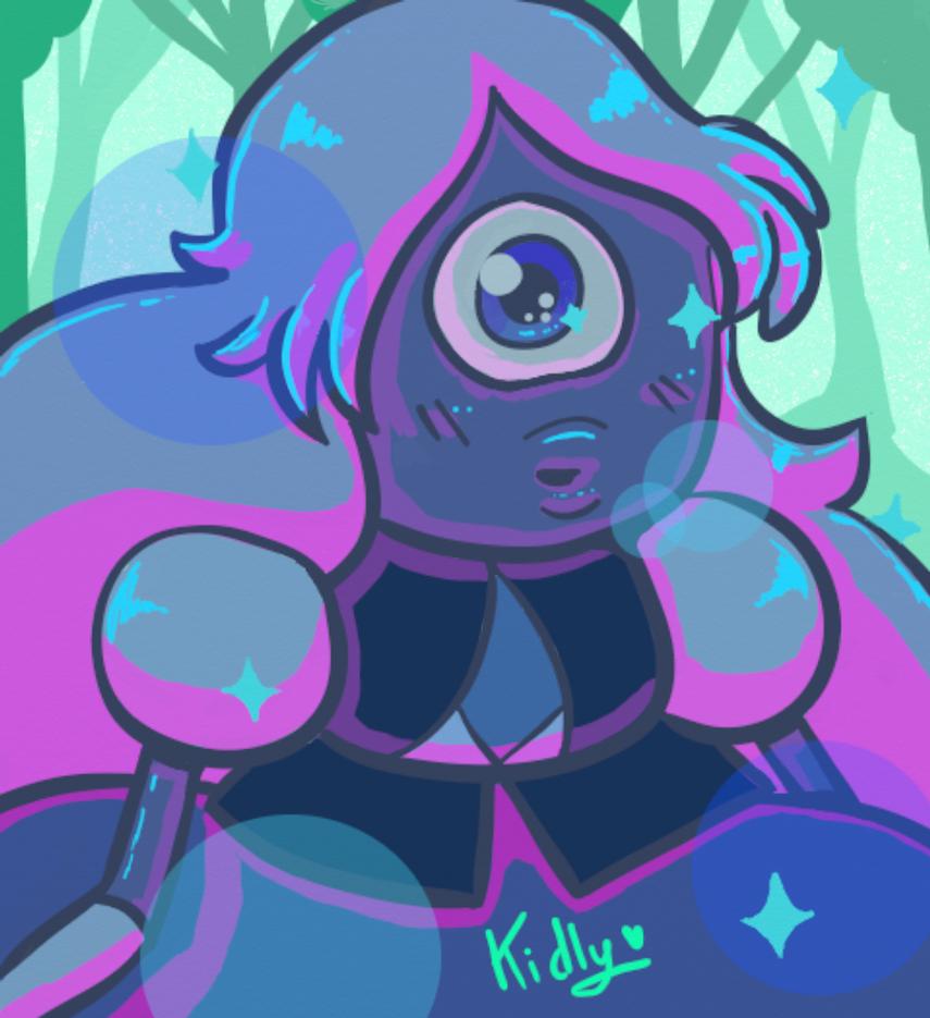 Sapphire by Y-a-m-i-k-o