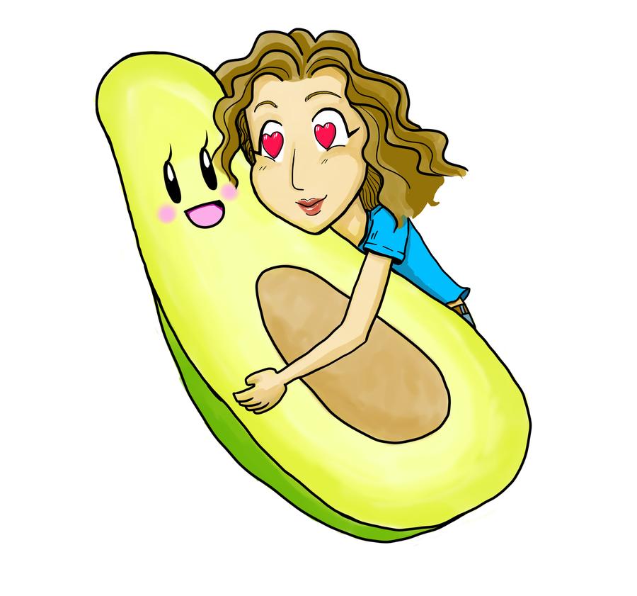 Avocado Love by Y-a-m-i-k-o