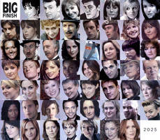 Big Finish Doctor Who Audio Companions Collage