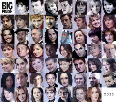 Big Finish Doctor Who Audio Companions Collage