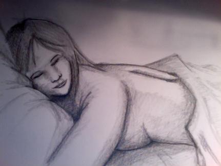 Sleeping Angel by Firia