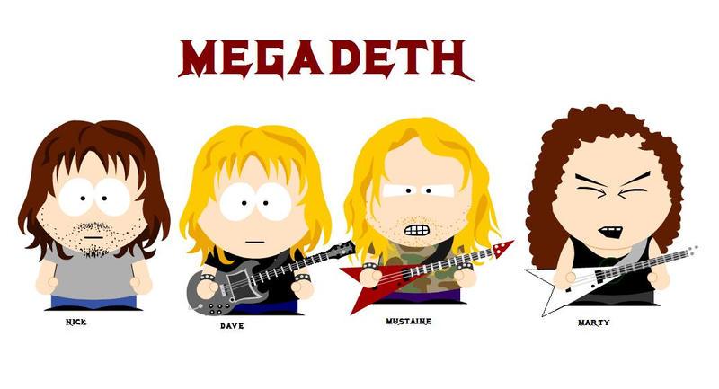 Megadeth by WaChuLeRuXx
