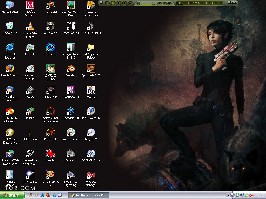 Desktop Screenshot 6-10-2008