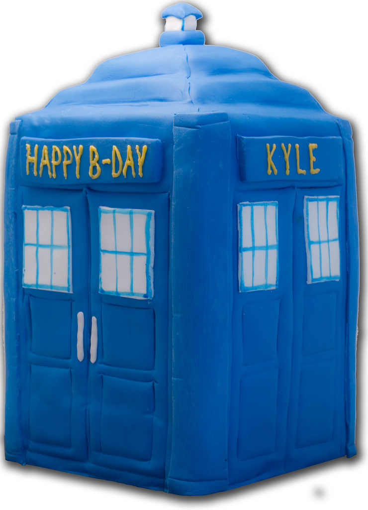 tardis template for cake - pin topper and cake ideas and designs