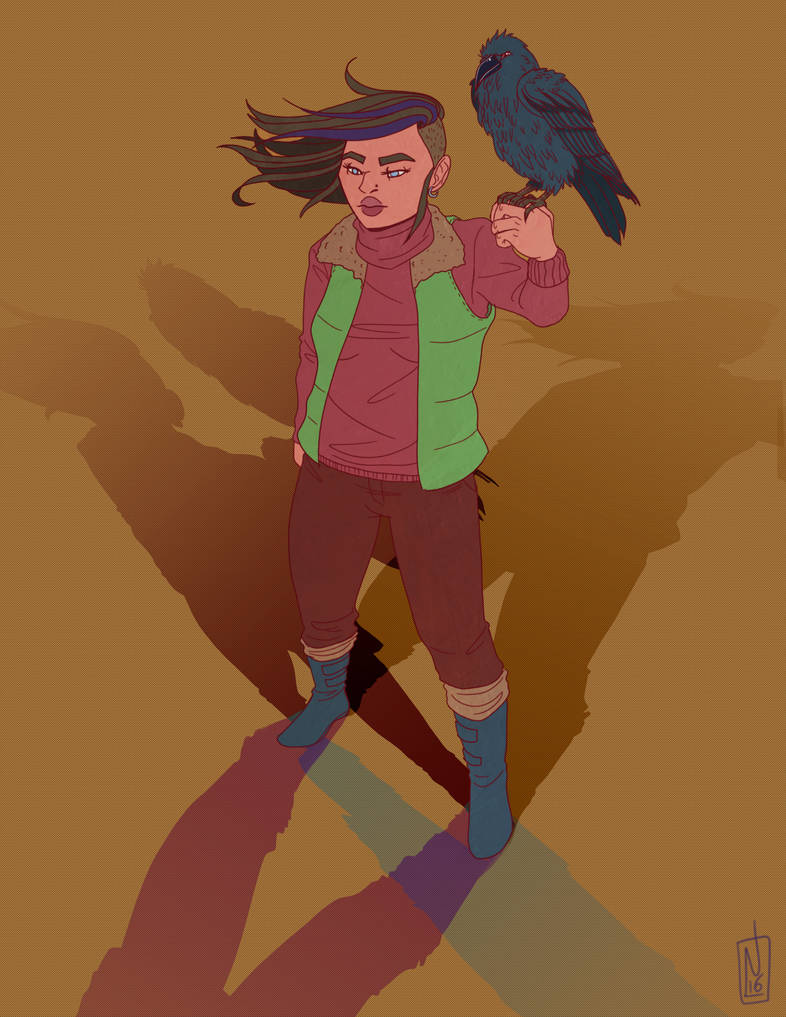 Adeline and Raven