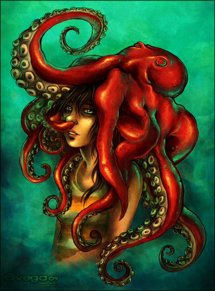 my hat is an octopus by StefTastan