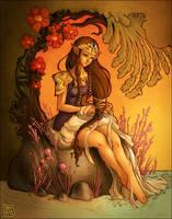 princess zelda by StefTastan