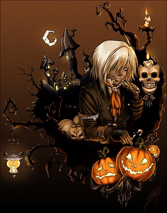 halloween by steftastan