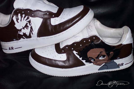 Boondocks AF1s by KidsfromtheGhetto