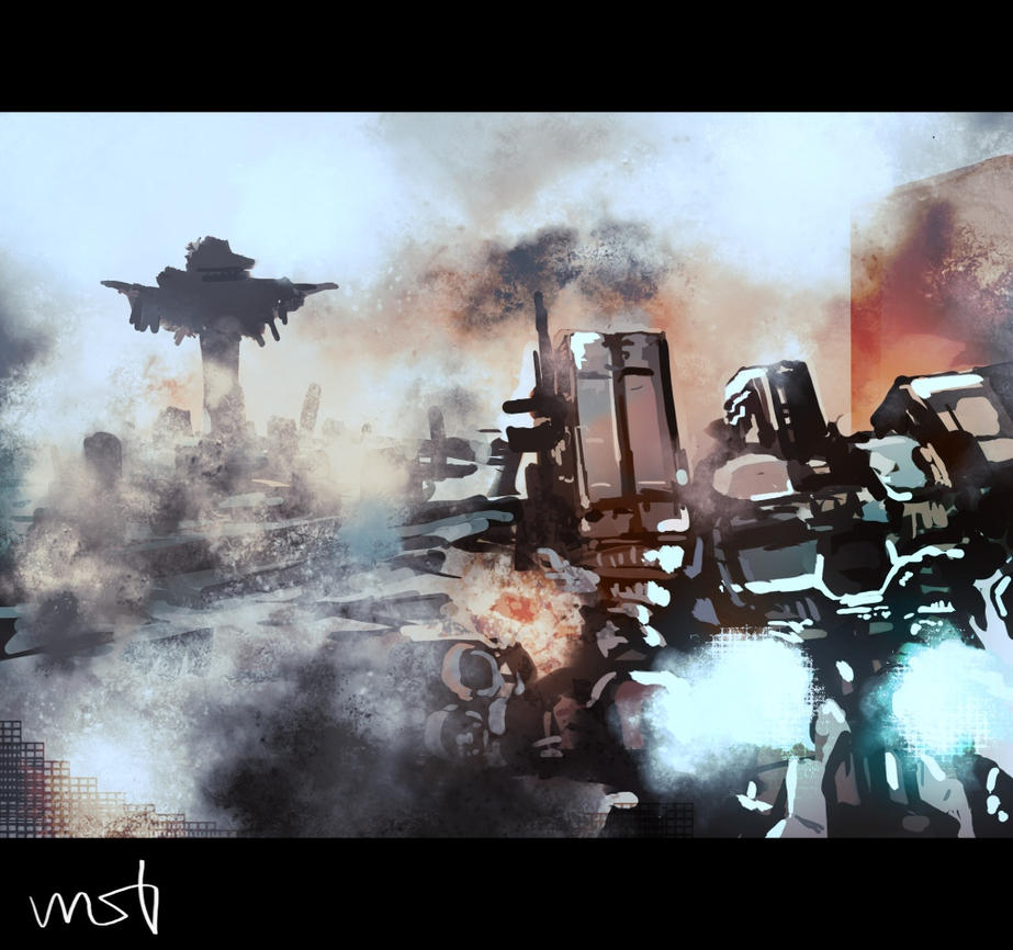 armored core v by wasabikarashi