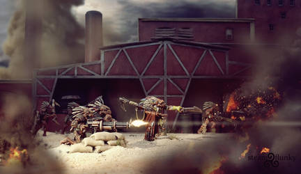 Firefight by steamflunky