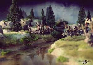 Orc wild boar riders