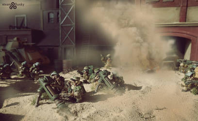Mole Mortar Battery by steamflunky