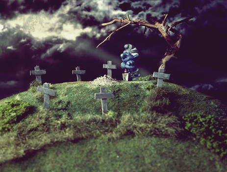 Hill of Smurf Graves.
