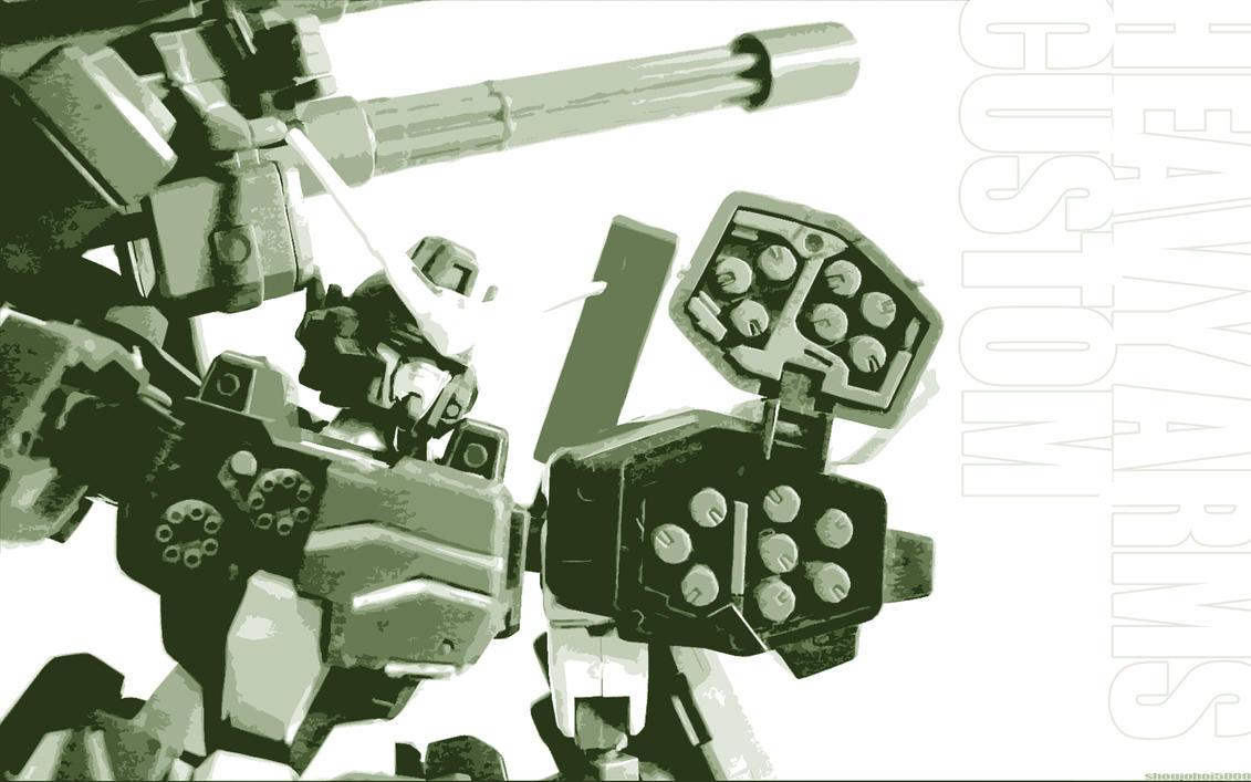 Heavy Arms Custom by Shoujoboi5000