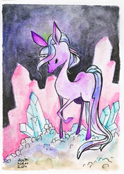 Artist Trading Card by angeldevilland