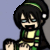 Toph Evil Look Icon by ChibiAngel86