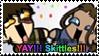 Zutara Skittles Stamp by ChibiAngel86
