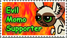 Evil Momo Supporter Stamp by ChibiAngel86