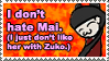 Mai Non Hating Stamp by ChibiAngel86