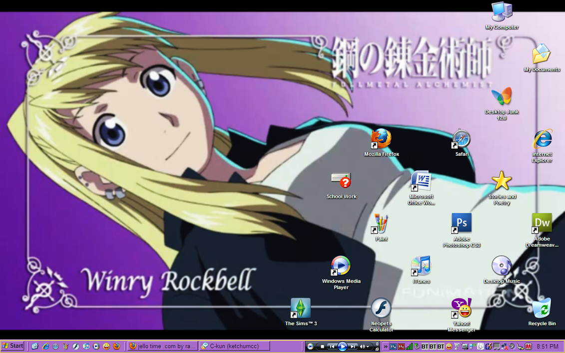 how to draw winry rockbell