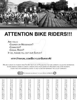 Bike Survey Flyer