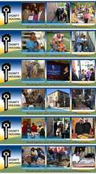 Dignity Housing Banner Designs