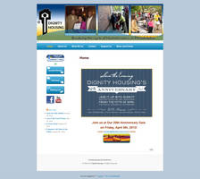 Home PageDignity Housing Site Design Example