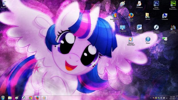 Twilight Sparkle Desktop Screenshot