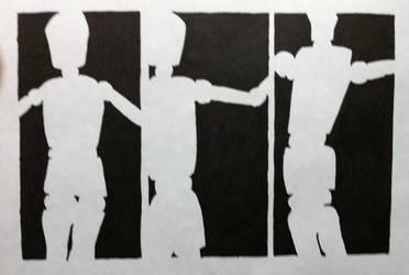 Mannequin Silhouettes