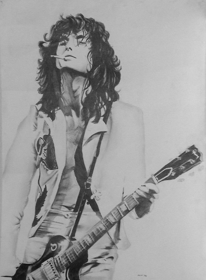 Jimmy Page by kzeor