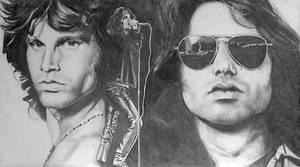 Jim Morrison by kzeor