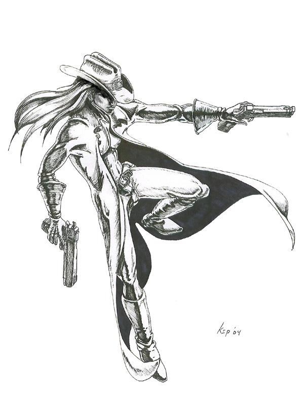 Gunfighter by kzeor on deviantart - Gunfighter wallpaper ...