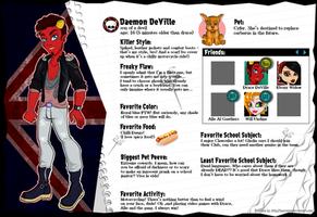 BIO: Daemon DeVille by Qba016