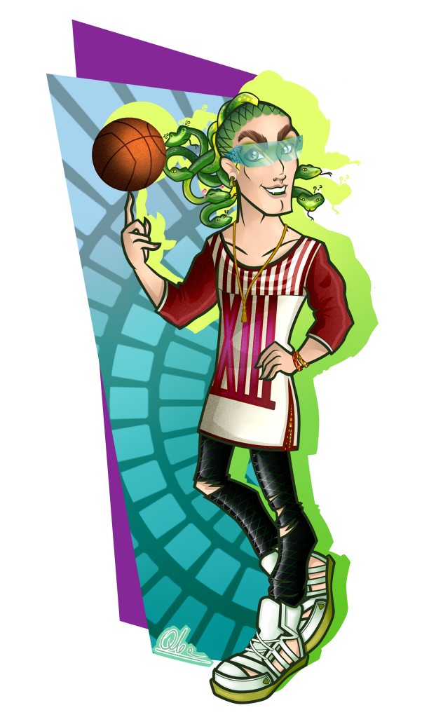 Deuce gorgon by qba016 on deviantart - Monster high deuce ...