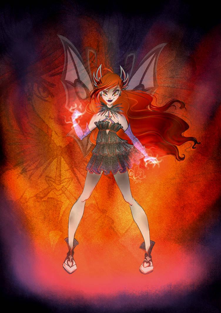 Dark Enchantix Bloom by Qba016