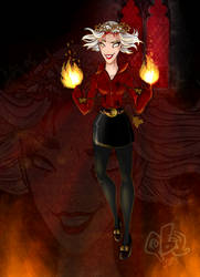 Sabrina The Herald by Qba016