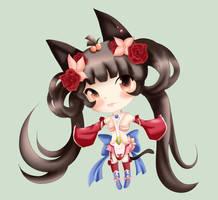 TsukiHina OC: Calista Chibi