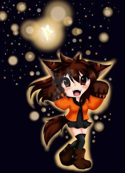 Happy Halloween Were-Chibi OC