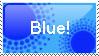 Blue stamp by Om-nom-nomnivore