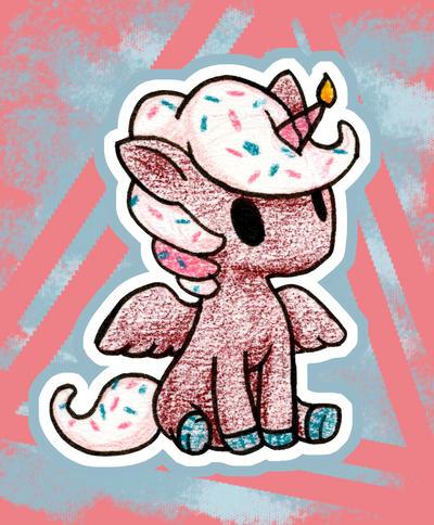 Cupcakeorn by Om-nom-nomnivore
