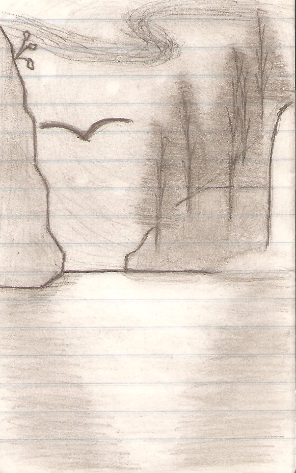 Scenery Sketch by super-fat-man